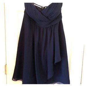 Jenny Yoo collection short chiffon dress sz 10.